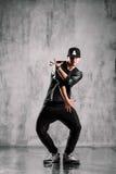 Hip-hop dancer Royalty Free Stock Images