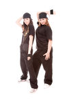 Hip-hop dancers Stock Photography