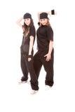 Hip-hop dancers Stock Photography