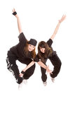 Hip-hop dancers Stock Photo