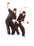 Hip-hop dancers Stock Images