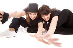 Hip-hop dancers Stock Image