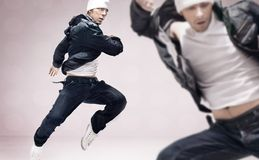 Hip-hop dancers Royalty Free Stock Photography