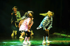 Hip hop dancers Royalty Free Stock Image