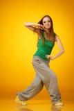 Hip-hop dancing Stock Photography