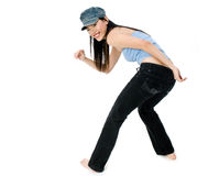 Hip Hop Dancing Royalty Free Stock Image