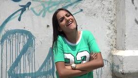 Hip Hop Dancing, Dance, Urban. Stock video of a Hispanic woman stock video