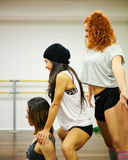 Hip Hop Dancing Girls Royalty Free Stock Photography