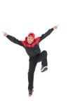 Hip-hop dansare Royaltyfri Foto