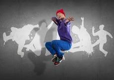 Hip Hop dansare royaltyfri bild