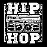 Hip Hop-Druck vektor abbildung