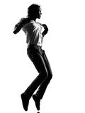 Hip hop funk dancer dancing man Stock Photo