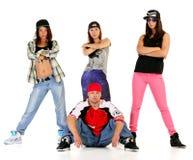 Hip hop gang Stock Photo