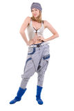 Hip Hop Girl. Stock Photo