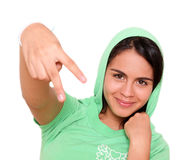 Hip hop girl Stock Photography