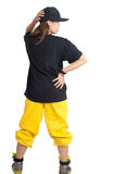 Hip hop girl Stock Photo