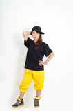 Hip hop girl Royalty Free Stock Image