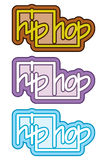 Hip hop graffiti concept Royalty Free Stock Images