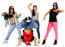 Hip-Hop-Gruppe Lizenzfreies Stockfoto