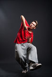 Hip-hop guy Stock Photo