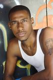 Hip hop guy stock photo