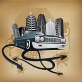 Hip-hop illustration Stock Image
