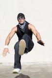 Hip hop jump Stock Photos