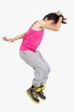 Hip-hop jumps Stock Images