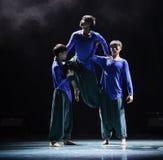 Hip-hop kampusu taniec Fotografia Stock