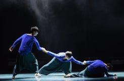 Hip-hop kampusu taniec Obrazy Stock