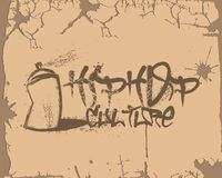 Hip Hop-Kultur-Graffiti Stockbild