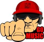 Hip hop mężczyzna Obraz Royalty Free