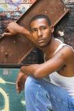 Hip-hop man Royalty Free Stock Photo