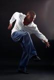 Hip hop man dancer Stock Photography