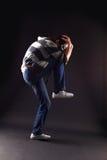 Hip hop man dancer Royalty Free Stock Photography