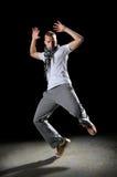 Hip Hop Man Dancing Royalty Free Stock Photos