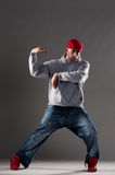 Hip-hop man dancing Stock Photography