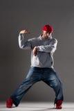 Hip-hop man dancing Stock Photography