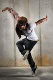 Hip Hop Man Dancing Stock Images