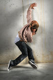 Hip Hop Man Dancing Royalty Free Stock Images