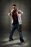 Hip Hop Man Extending Hands Stock Image