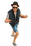 Hip hop man gesturing Royalty Free Stock Photo