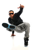 Hip Hop Man Performing Royalty Free Stock Photos