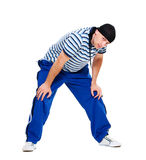 Hip hop man standing Royalty Free Stock Images