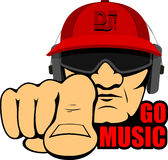 Hip hop man Royalty Free Stock Image