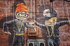 Hip Hop marionetki Obrazy Royalty Free