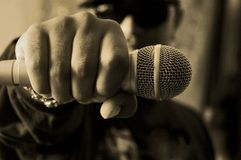 Hip hop musician Stock Photography