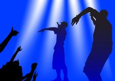 Hip hop people royalty free stock photography