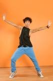 Hip-hop performer at the studio Stock Photos