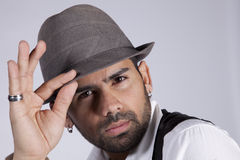 Hip hop portrait Stock Photo